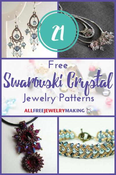 21 Free Swarovski Crystal Jewelry Patterns AllFreeJewelryMakingcom