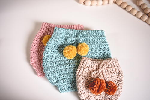 High Waisted Baby Bloomers