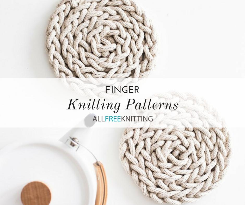 5 Finger Knitting Patterns | AllFreeKnitting.com