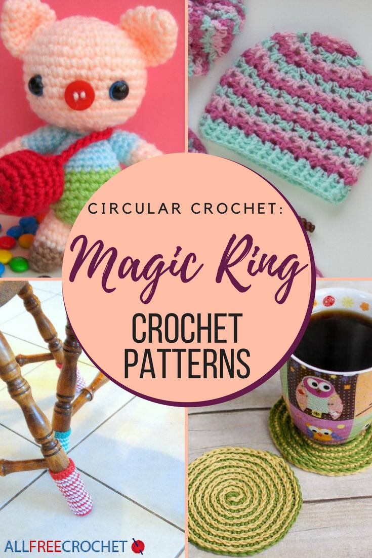 Circular Crochet: 19 Magic Ring Crochet Patterns | AllFreeCrochet.com