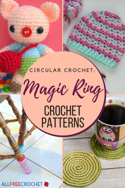 Circular Crochet 19 Magic Ring Crochet Patterns Allfreecrochet