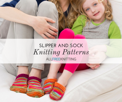 16 Slipper And Sock Knitting Patterns Allfreeknitting