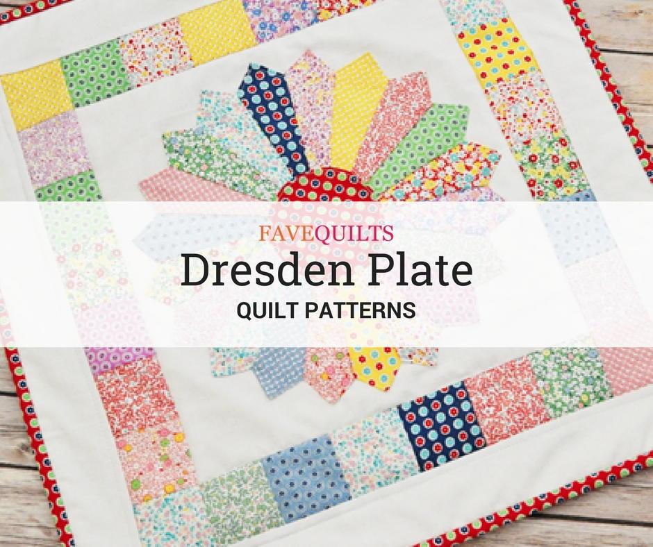 12 Dresden Plate Quilt Patterns
