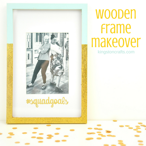 Wooden Frame Makeover