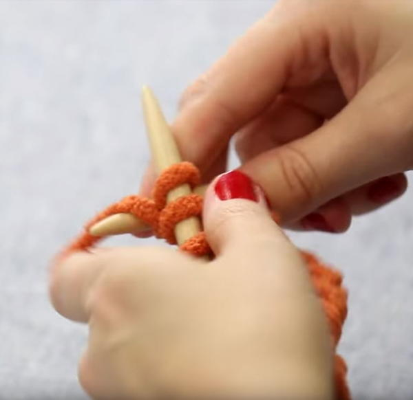 Tip #3: Learn to Knit Continental Style