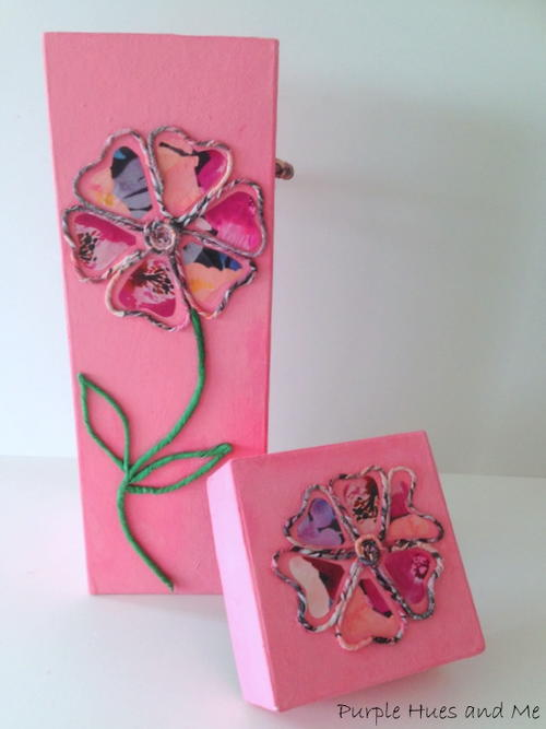 Twisted Paper Napkin Flower Motif_2