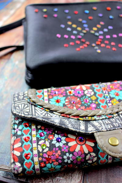 How to Upcycle Purses with Rhinestones