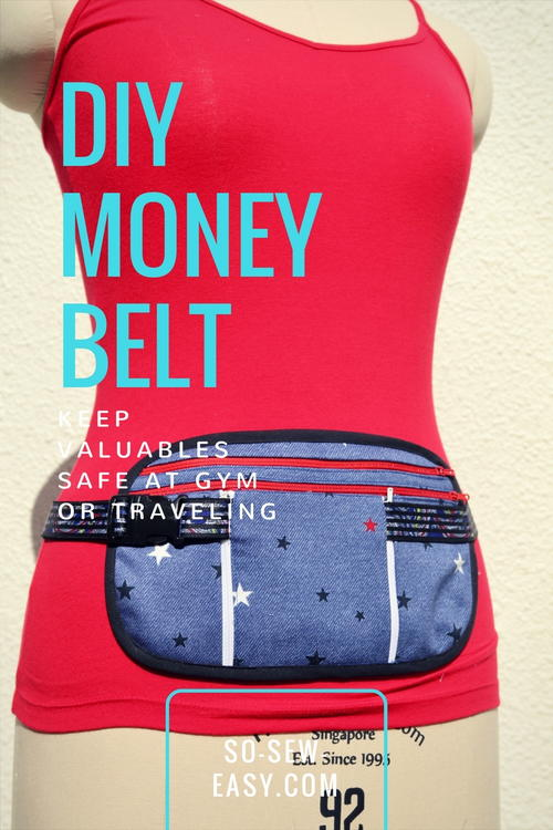 DIY Money Belt