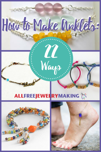How to make anklets 22 ways allfreejewelrymaking how to make anklets 22 ways fandeluxe Images