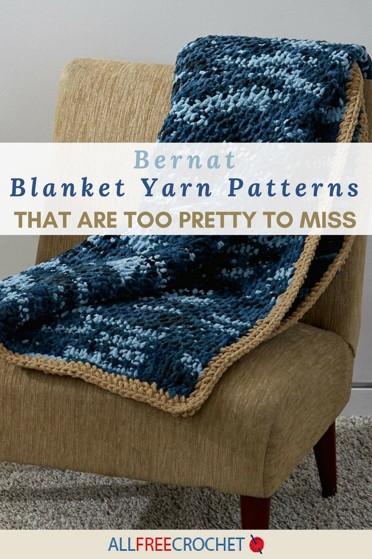 Bernat Blanket Yarn Crochet Patterns Custom Decorating Design