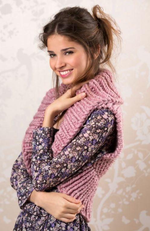 Cozy Knit Shrug Pattern Allfreeknitting