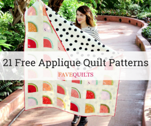 21 Free Applique Quilt Patterns