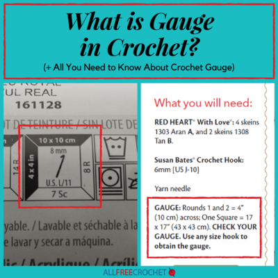 What Is Crochet Gauge?