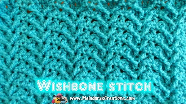 Wishbone Crochet Stitch
