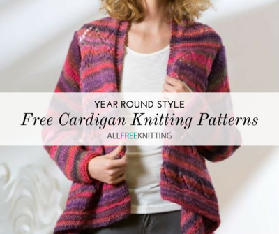 Year Round Style Free Cardigan Knitting Patterns