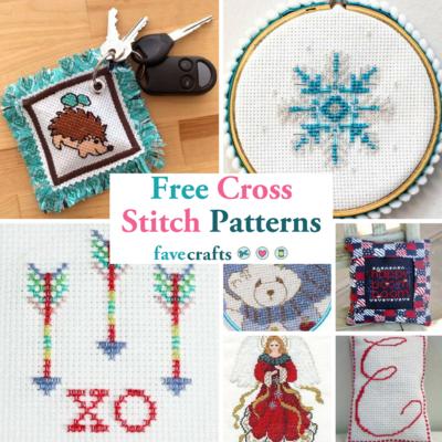 40 Free Cross Stitch Patterns FaveCrafts Interesting How To Make Cross Stitch Patterns On Computer