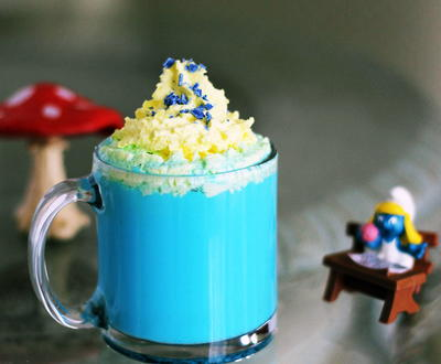 Vanilla Smurfette Blue Drink Recipe
