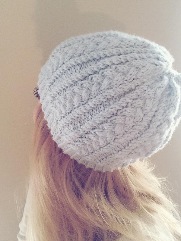 Cable Crush Winter Hat