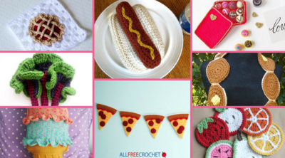 40+ Scrumptious Crochet Food Patterns