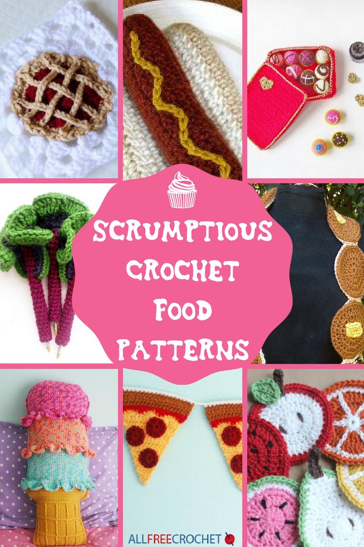 40+ Scrumptious Crochet Food Patterns | AllFreeCrochet.com