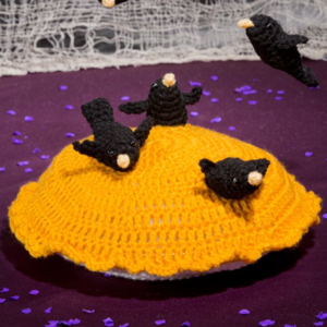How Many Crochet Blackbirds
