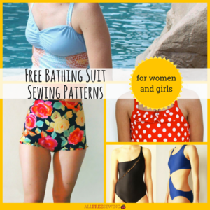 10+ Free Bathing Suit Sewing Patterns (for Women and Girls)