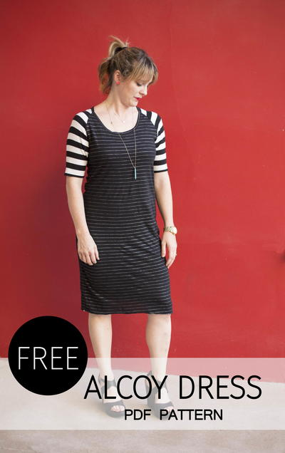 Alcoy Dress - Free pattern!