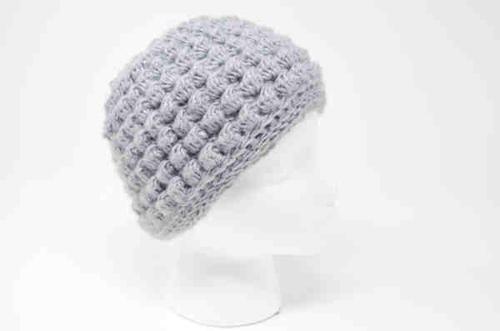 Bobble Messy Bun Hat Crochet Pattern Allfreecrochet