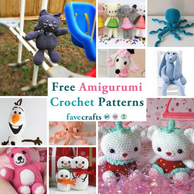 40 Free Amigurumi Crochet Patterns FaveCrafts Inspiration Amigurumi Free Pattern