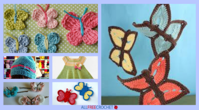 35+ Free Crochet Butterfly Patterns