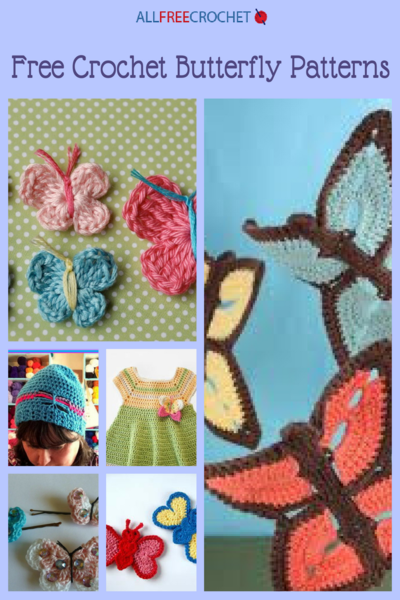 35 Free Crochet Butterfly Patterns