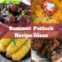 Summer Potluck Recipe Ideas: 20 Summer Slow Cooker Recipes