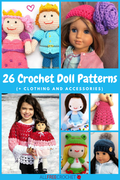 Crochet Doll Patterns And Accessories Allfreecrochet