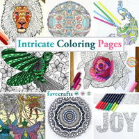 111 Intricate Coloring Pages