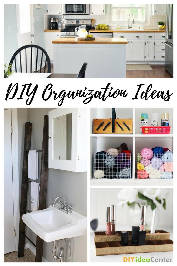32 DIY Organization Ideas | DIYIdeaCenter.com