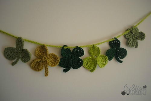 Luck of the Irish St. Patty's Day Bunting/Applique