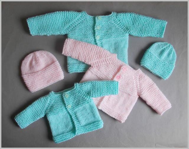 Premature Baby Sets | AllFreeKnitting.com