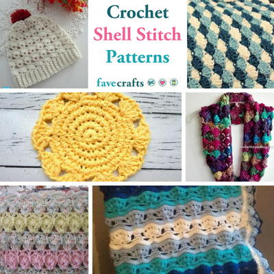 31 Crochet Shell Stitch Patterns Youll Love Favecrafts