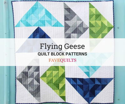 36 Free Flying Geese Quilt Block Patterns Favequilts