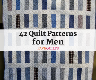 Masculine Quilt Patterns FaveQuilts Interesting Quilt Patterns For Men