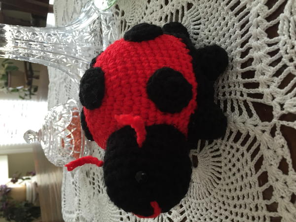 Lorelei The Lady Bug Allfreecrochet