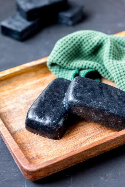 DIY Charcoal Face Soap