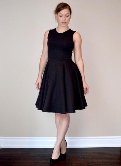 Perfect Little Black Dress Pattern Allfreesewing