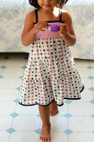 Tiered Girl's Dress Pattern