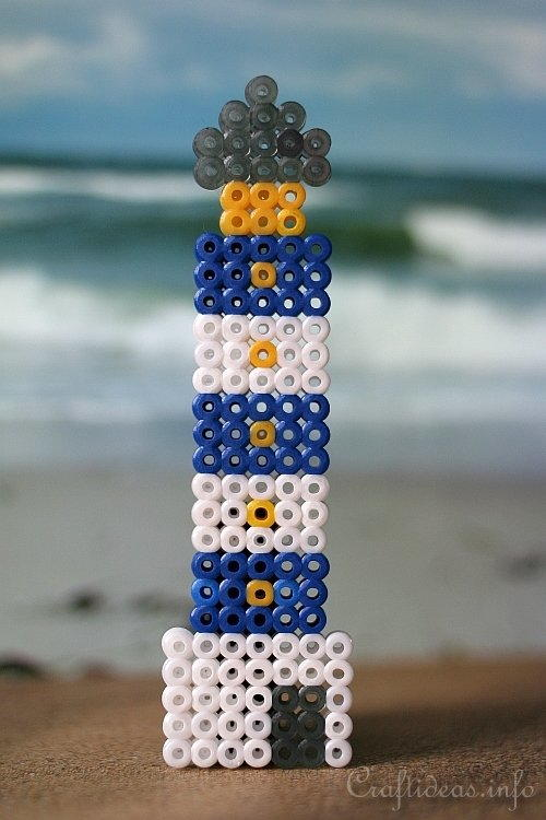 Melting Beads Light House