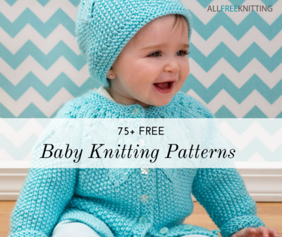 40 Free Baby Knitting Patterns AllFreeKnitting Impressive Baby Patterns