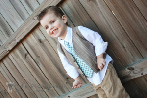 Upcycled Boys Vest Pattern