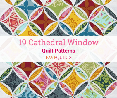 19 Cathedral Window Quilt Patterns Favequilts
