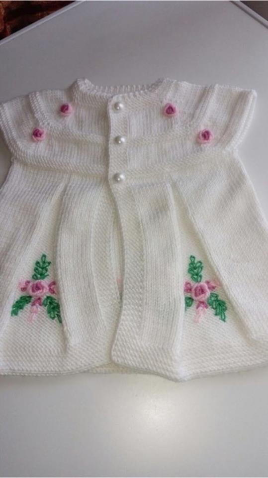 Knitted Vest Pattern For Baby Girls Allfreeknitting