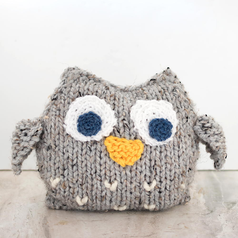 Owl Knitting Pattern Unique Decoration